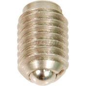 Non-Locking Ball Plunger w/ SS Body SS Ball 2x5lbs Pressure 10-32 Thread