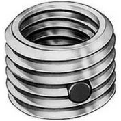 Re-Nu Thread™ Insert W/Nylon Patch 1/4-20 Internal x 7/16-14 External Thread, Zinc Plated