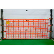 US Netting Loading Dock Safety Net, 4 Feet x 12 Feet, OHPW412