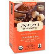 Numi Organic Tea Herbal Tea, Rooibos Chai, Single Cup Bags, 18/Box