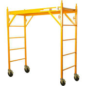Nu-Wave 6'H x 6'L Scaffold W/ Locking Silverling Casters - 660CL