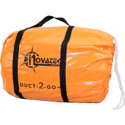 "Novatek Duct-2-Go 10"" x 25' Heavy Duct Vinyl with integrated carrying case"