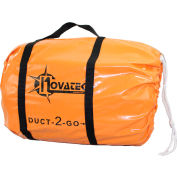 "Novatek Duct-2-Go 12"" x 50' Heavy Duct Vinyl with integrated carrying case"