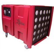Novair Air Scrubber/Negative Air Machine 2000-1000 CFM w/HEPA, audible & visual alarm
