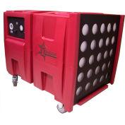 Novair Air Scrubber/Negative Air Machine two 2000-1000 CFM with G/P Filtration