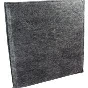 "Novatek Charcoal Filter 1/2"" thick - Novair 2000 24"" x 24"""