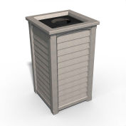 Lakeland 22-1/2 Gallon Commercial Waste Bin, Sandstone - 8871-SG