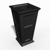 Oxford 24 Gallon Commercial Waste Bin, Black - 8874-B