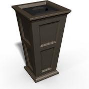 Oxford 24 Gallon Commercial Waste Bin, Espresso - 8874-ES