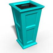 Oxford 24 Gallon Commercial Waste Bin, Ocean Blue - 8874-OB