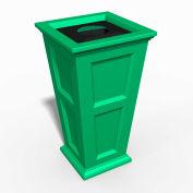 Oxford 24 Gallon Commercial Waste Bin, Spring Green - 8874-SP