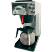"""Newco 101767 - AK-TC Coffee Brewer, Pour Over, Thermal Carafe, 120V, 8-1/2""""W x 17-3/4""""D x 17-5/8""""H"""