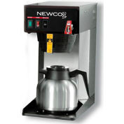 "Newco 101894 - FC-S Coffee Brewer, Plumbed, W/Flow Washer, 120V, 8-1/2""W x 16-3/8""D x 17-5/8""H"