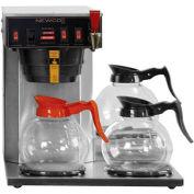 "Newco 108000-B - IA-LP Coffee Brewer, Plumbed, 2 Warmers, 120V, 15-7/8""W x 16-3/8""D x 16-3/8""H"