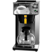 """Newco 110097 - AK-1 Coffee Brewer, Pour Over, 1 Warmer, 120V, 8-1/2""""W x 16-3/8""""D x 16-7/8""""H"""