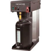 "Newco 120730 - FC-TS Coffee Brewer, Plumbed, Telescope, 120V, 8-1/2""W x 16-3/8""D x 18-3/4"" -26-1/2""H"