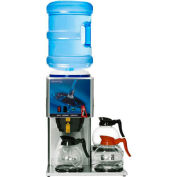 """Newco 773346 KB-3F Coffee Brewer, Bottled Water, Decanter, 3 Warmer, 120V, 16-1/2"""" x 18"""" x 22-1/8"""""""
