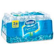 Nestle NLE101264 - Purified Bottled Water, 16.91 Oz., 24/Carton