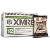 XMRE™ 1300XT Self Heating Ready To Eat Meal Kit - 12/Case