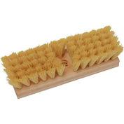 """O-Cedar Commercial 10"""" Deck Scrub Brush, Tampico 12/Case - 20400 - Pkg Qty 12"""