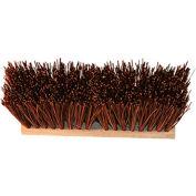 """O-Cedar Commercial 16"""" Street Broom 6 1/4"""" Trim, Palmyra 6/Case - 20604 - Pkg Qty 6"""