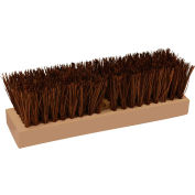 "O-Cedar Commercial 10"" Deck Scrub Brush, Palmyra 12/Case - 27184 - Pkg Qty 12"