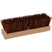 "O-Cedar Commercial 10"" Deck Scrub Brush, Palmyra 12/Case - 27184 - Pkg Qty 12"