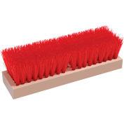 """O-Cedar Commercial 10"""" Deck Scrub Brush, Polypro 12/Case - 27190 - Pkg Qty 12"""