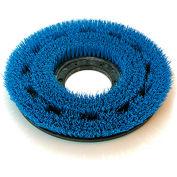 """O-Cedar Commercial 15"""" MaxiPlus® .030"""" Rotary Scrub Brush, Stiff Blue Crimped Poly - 60615"""