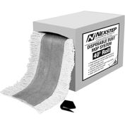 """O-Cedar Commercial 40' x 5"""" Pretreated Disposable Dust Mop In A Box 1/Case - 96020"""