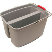 O-Cedar Commercial MaxiRough® All-Purpose Divider Bucket 19 Qt. 6/Case - 96974 - Pkg Qty 6