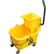 O-Cedar Commercial MaxiRough® Mop Bucket & Wringer - Yellow - 96975