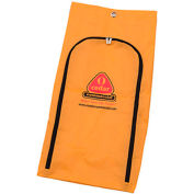 O-Cedar Commercial MaxiRough® Janitor Cart 25 Gallon Vinyl Replacement Bag 2/Case- 96985 - Pkg Qty 2