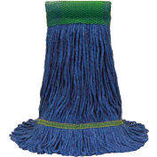 O-Cedar Commercial Large MaxiClean Loop-End Mop, Blue - 97157 - Pkg Qty 12
