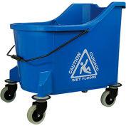 O-Cedar Commercial 36 Qt. MaxiPlus® Mop Bucket, Blue 1/Case - 972