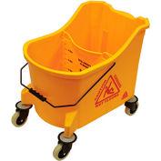 O-Cedar Commercial 36 Qt. MaxiPlus® Mop Bucket, Yellow 1/Case - 978