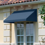 Awntech CN44-10DB, Window/Entry Awning 10-3/8'W x 4-11/16'H x 4'D Dusty Blue