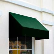 Awntech CN43-10F, Window/Entry Awning 10-3/8'W x 4-11/16'H x 3'D Forest Green