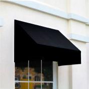 Awntech CN44-10K, Window/Entry Awning 10-3/8'W x 4-11/16'H x 4'D Black