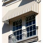 Awntech RN22-10LW, Window/Entry Awning 10-3/8'W x 2-9/16'H x 2'D Linen/White