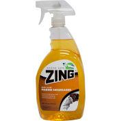 ZING® - Marine Safe Power Degreaser, Lemon Grass Scent, Quart Bottle 9/Case - Z193-QPS9
