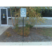"""Standard FlexPost® Sign Post, For Natural Ground Surface, 78""""H"""