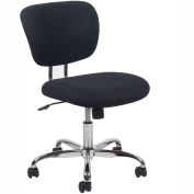 OFM Task Chair - Fabric - Mid Back - Black - Essential Series
