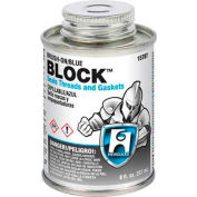 Hercules 15711 Block Thread Sealant- Screw Cap With Brush 1 Pt. - Pkg Qty 12