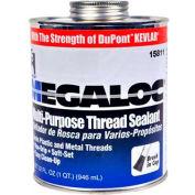 Hercules 15811 Megaloc Thread Sealant - Screw Cap With Brush 32 oz. - Pkg Qty 12