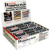 Hercules 25527 ProPoxy Triple Play Putty Display Pack 4 oz. - Pkg Qty 24