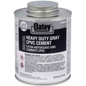 Oatey 30329 EP42 CPVC - PVC HD Gray Industrial Cement 32 oz. - Pkg Qty 12