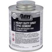 Oatey 30330 EP42 CPVC - PVC HD Gray Industrial Cement 1 Gallon - Pkg Qty 6
