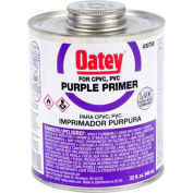 Oatey 30757 Purple Primer 16 oz., NSF Listed - Pkg Qty 24