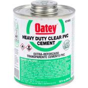 Oatey 30850 PVC Heavy Duty Clear Cement 4 oz. - Pkg Qty 24